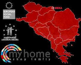 My Home s.r.o. - jelenléti térkép Európában