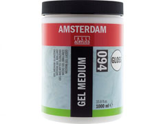 Γυαλιστερο medium gel AMSTERDAM 1000ml