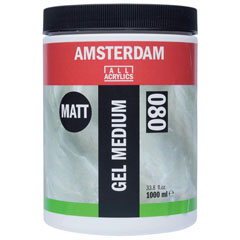 Ματ medium gel AMSTERDAM 1000ml