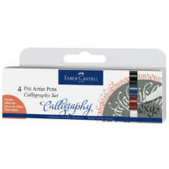 60ada9fdb4 Πένες καλλιγραφίας Faber-Castell Pitt   4 προϊόντα empty