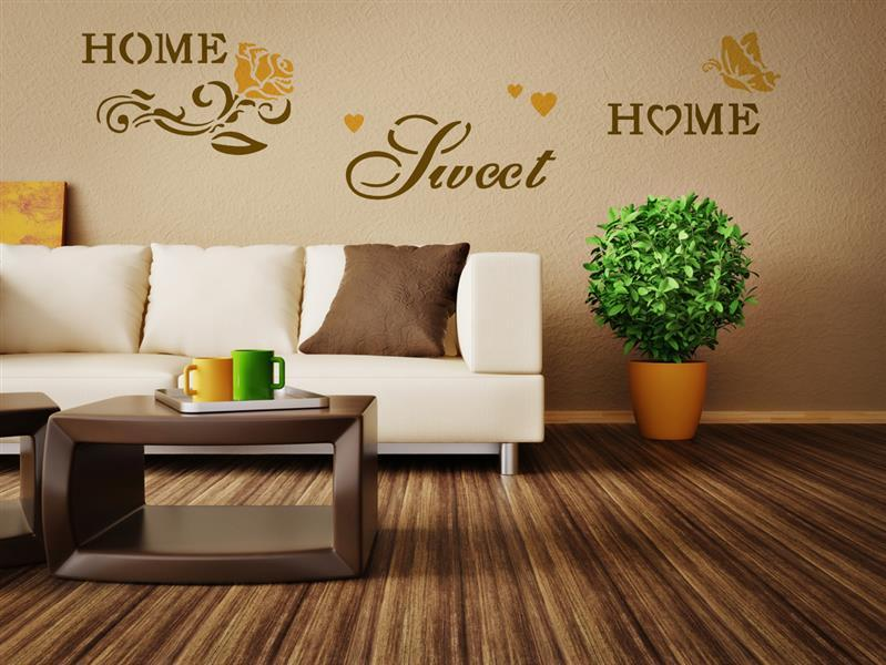 Σχεδιο τοιχου Home Design BRICO XXL - Sweet Home