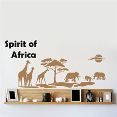 Σχεδιοα τοιχου Home Design BRICO XXL - Spirit of Africa